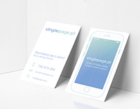 business card s1nglepage | Roxart