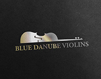 Blue Danube Violins (Vienna), Logo and BCard design