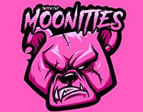 Moonities Twitch Logo & Sticker Design