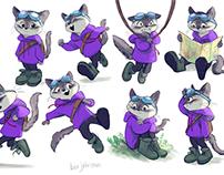 August/September Character Design