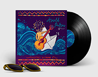 Arnald Pedrós - Diseño Ilustrado Cover Disco