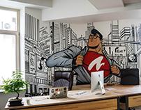 ZazmicMan IT office