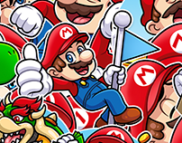 SUPER MARIO. Telegram Stickers — 2018