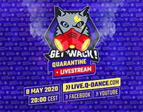 GET WACK! Quarantine Livestream /08.05.20 / Q-Dance.com