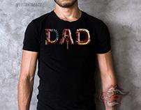 T-shirt design: I love you 3000