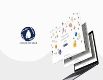 House Of Sake - Website Design