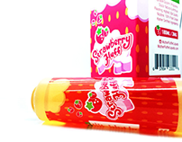 Logo & Packaging Design for Strawberry Fluff E-Liquid