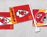 McDonald's x KC Chiefs Blitz Box Advertising