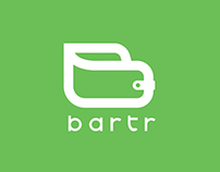 "Logo for a Money Exchange Company called ""Bartr"""