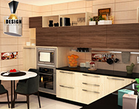 Kitchen Apartment Tayran