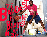 Nike - Footlocker The Baddest - Kevin Durant Campaign