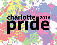 2016 Charlotte Pride Guide and T-Shirt