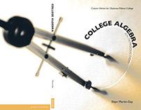 COLLEGE ALGEBRA -Cover spread Graphic Design