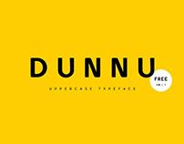 Dunnu Free Font