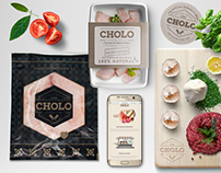 Carnicerías Cholo · Packaging & Web Design