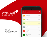Primus Orders App