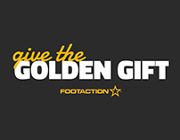 The Golden Gift – Footaction Holiday Visual Center