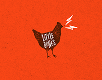 Little Bones Wings Brand Identity