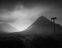 Glencoe in the mist