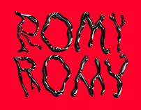 RomyRomy Font