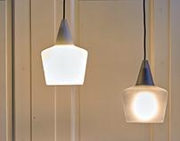 Hard pendant lamp - Halo Design