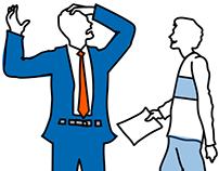 Online Job Board - Employer Focused: Storyboard