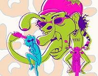 QUELOQUE - Ilustración para Fanzine