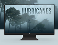 Hurricanes: Web Design