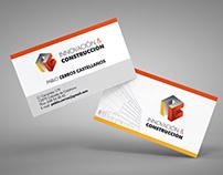 Logotipo y Tarjetas para Innovación & Construcción