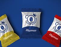 Caffè Borbone // Logo and identity restyling