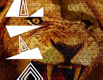 "Decorative Type ""Lion"""