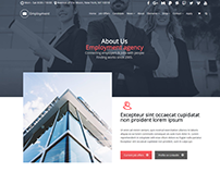 About Us Page - Employment WordPress Theme