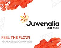 Juwenalia UEK 2016 | FEEL THE FLOW + Marketing Campaign
