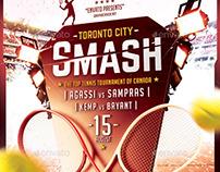 Tennis Tournament / School Flyer Template