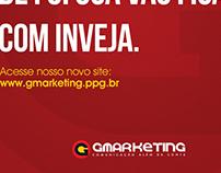 Anúncios novo site G Marketing