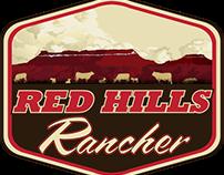 RED HILLS RANCHER LOGO DESIGN