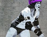 Derby Girl Wall Art