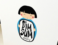 "Логотип ""Dimsum story"""