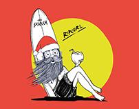 Santa's Surf