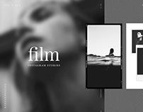 Film Frames & Polaroid Instagram Stories