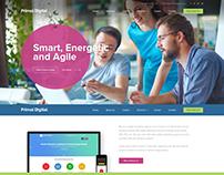 Primal Digiral Website Design