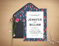 Free Sober Wedding Invitation Template
