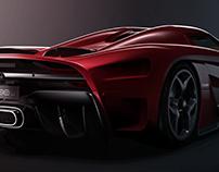 Koenigsegg Regera | CGI | 3D Modeling