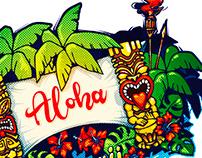 Hawaii. Tiki. Hot party!