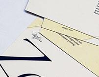 Typographer postcards