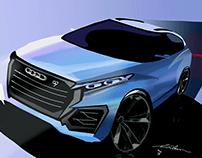 Audi Q9 design