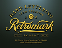 Retro Mark Script $23