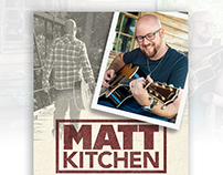 Matt Kitchen Music - Mini Flyer Redesign