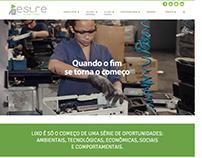 Novo site Estre // 2017