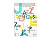 Jazz Voices Poster